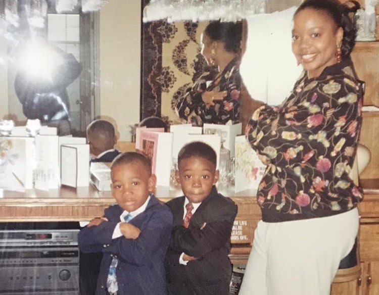 Wiz Khalifa's siblings - brother Dorien Thomaz and mother