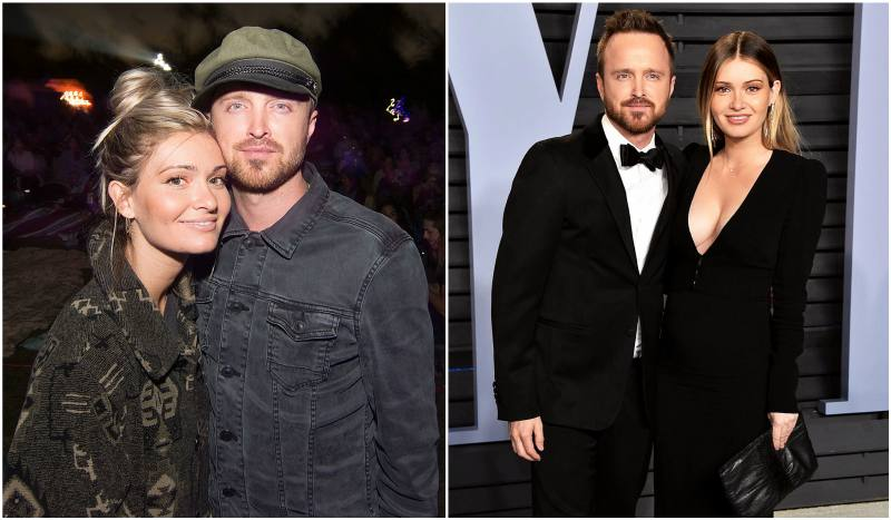 Aaron Paul's family - spouse Lauren Parsekian