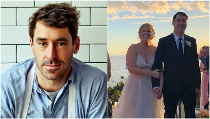 Amy Schumer's family - husband Chris Fisher