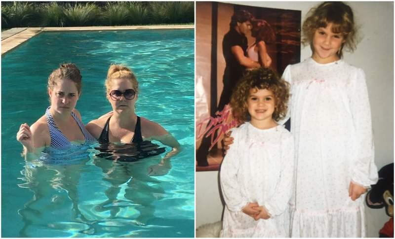 Amy Schumer's siblings - sister Kim Caramele