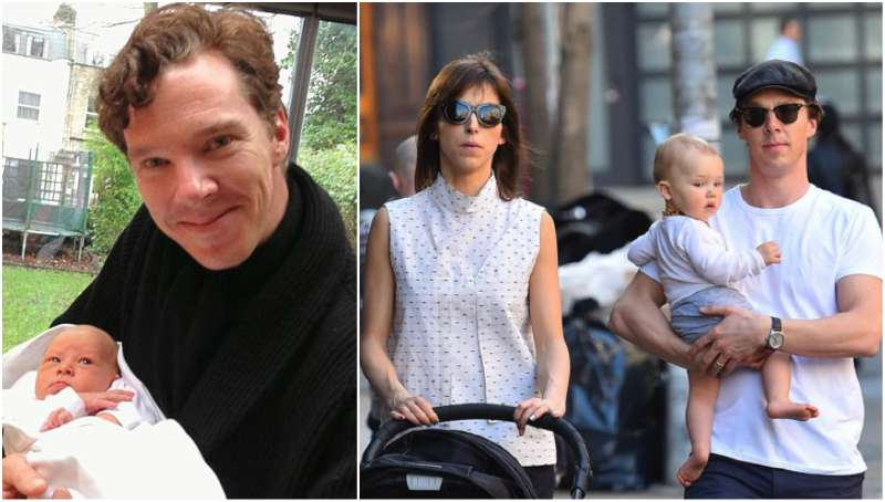 Benedict Cumberbatch's children - son Christopher Carlton Cumberbatch