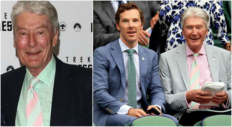 Benedict Cumberbatch's family - father Timothy Carlton Cumberbatch