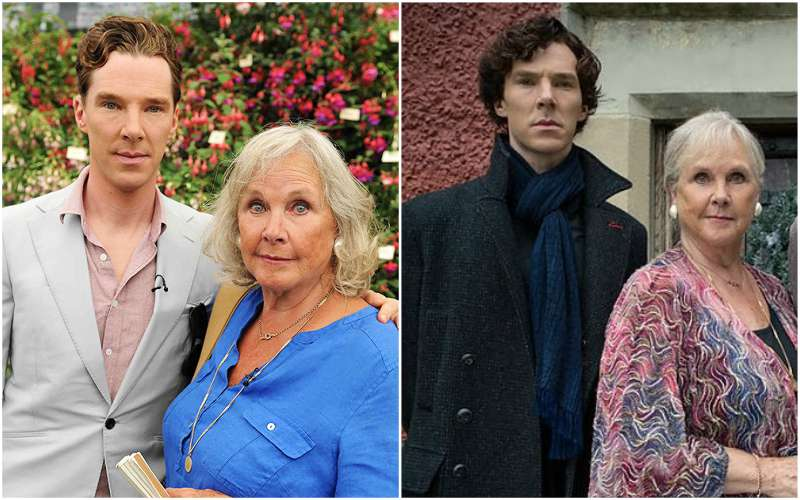 Benedict Cumberbatch's family - mother Wanda Ventham