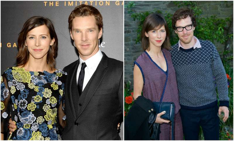 Benedict Cumberbatch's family - wife Sophie Hunter