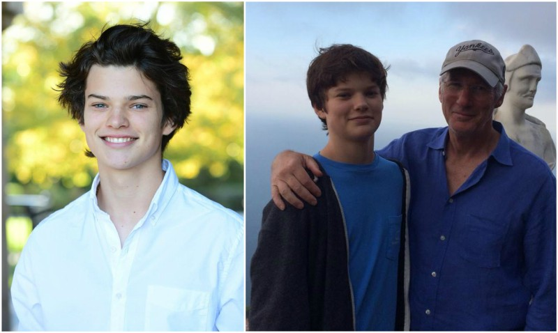 Carey Lowell's children - son Homer James Jigme Gere