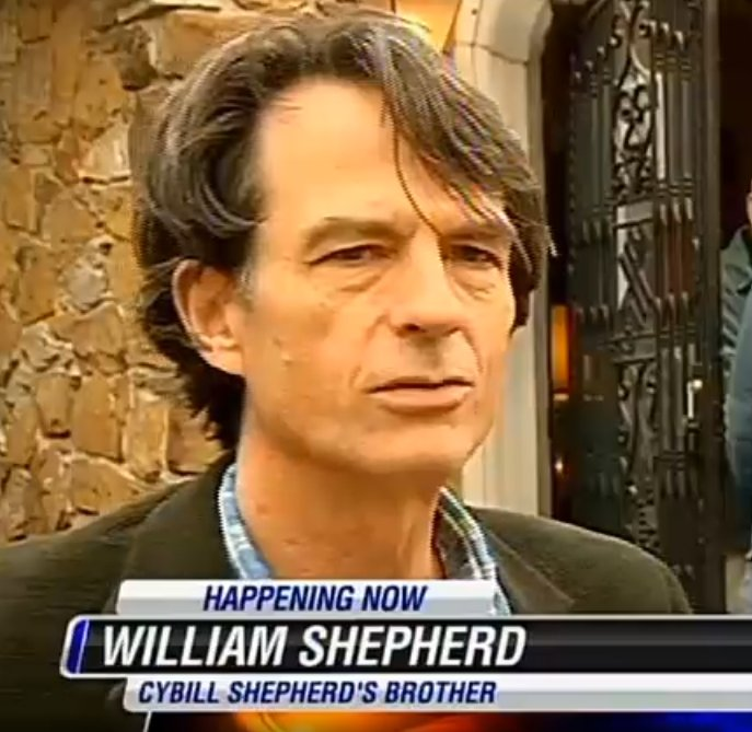 Cybill Shepherd's siblings - brother William Shepherd