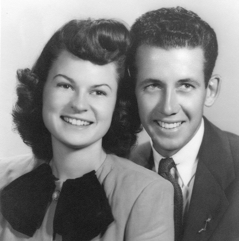 Diane Keaton's family - father Jack Newton Ignatius Hall