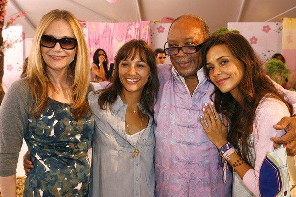 Quincy Jones' family - ex-wife Peggy Lipton