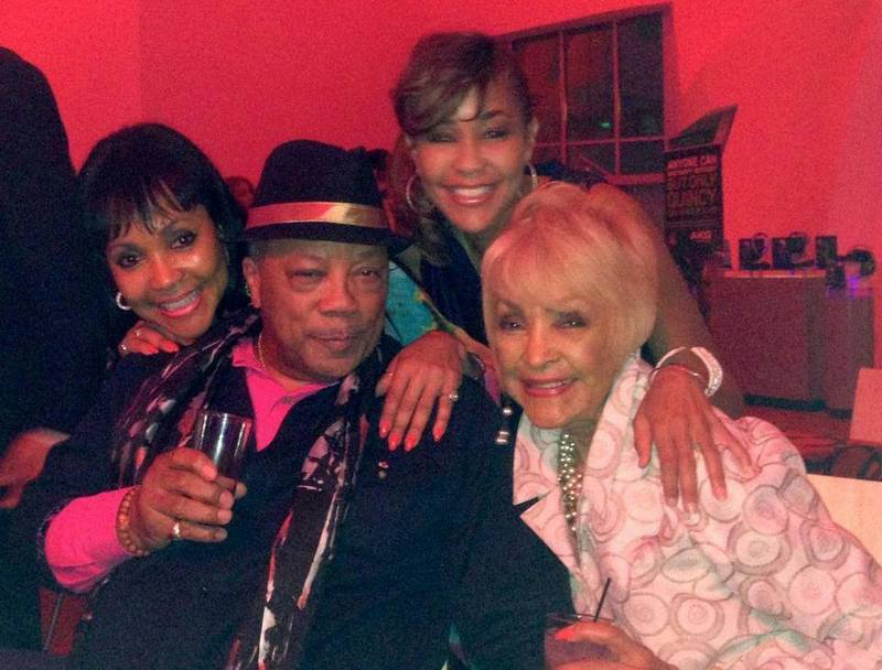 Quincy Jones' siblings - step-sister Theresa Frank