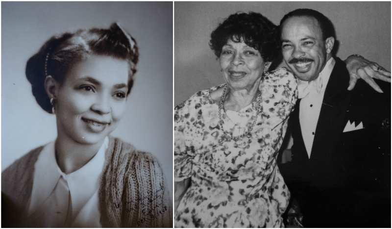 Quincy Jones' family - step-mother Elvera Jones