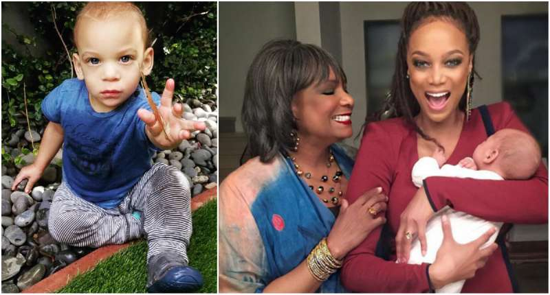 Tyra Banks' children - son York Banks Asla