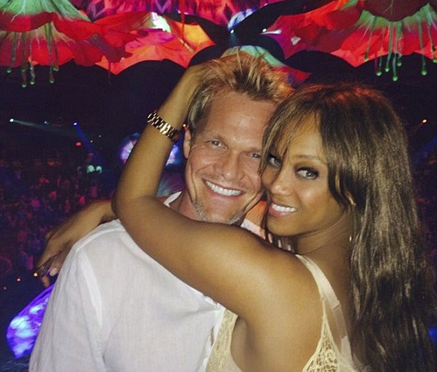 Tyra Banks' family - ex-partner Erik Asla