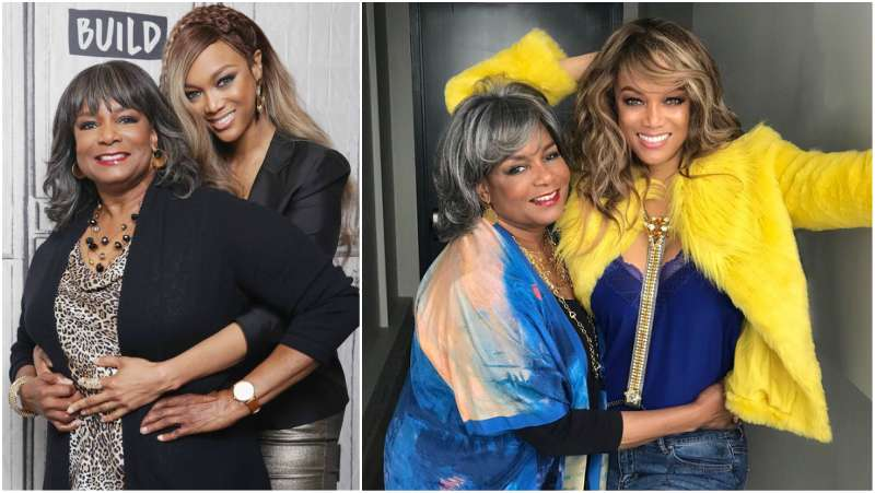 Tyra Banks' family - mother Carolyn London