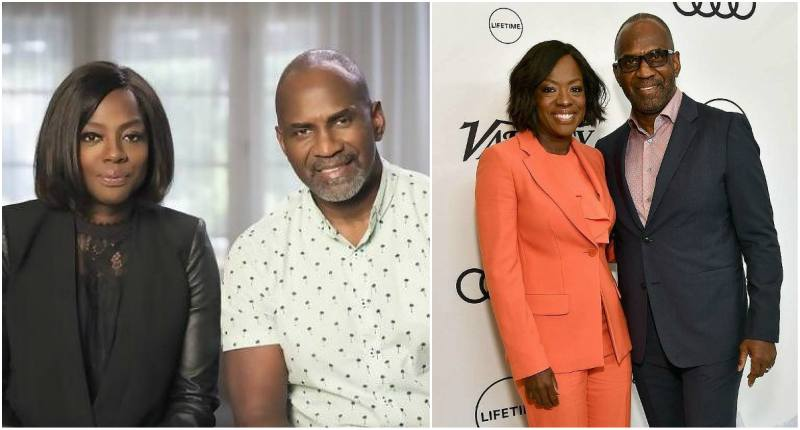 Viola Davis' family - husband Julius Tennon