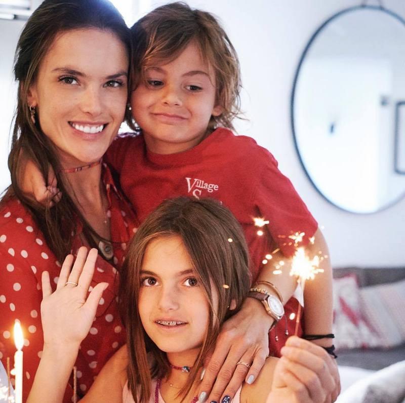 Alessandra Ambrosio's children