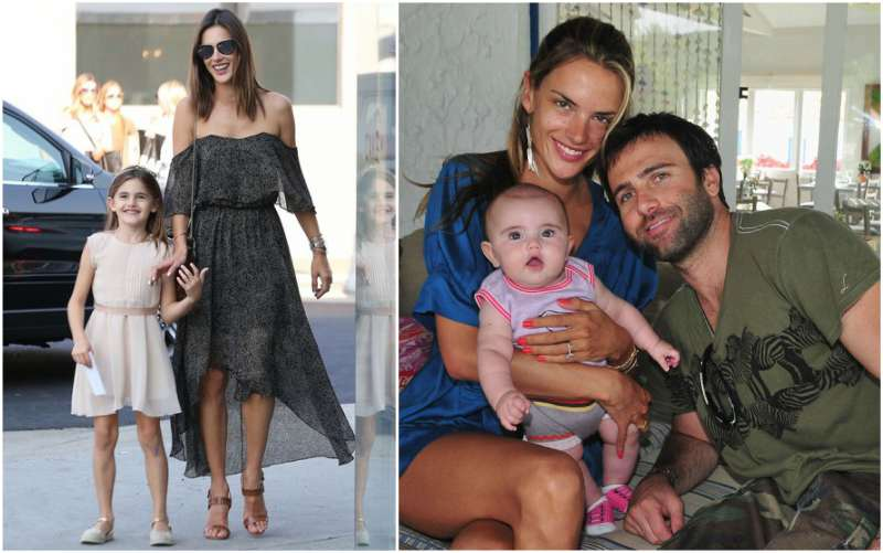 Alessandra Ambrosio's children - daughter Anja Louise Ambrosio Mazur