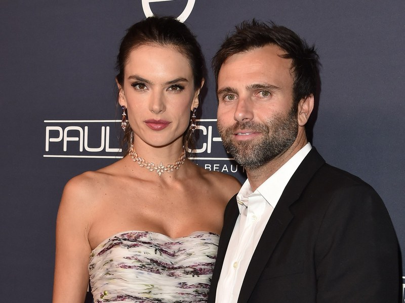 Alessandra Ambrosio's family - ex-partner Jamie Mazur