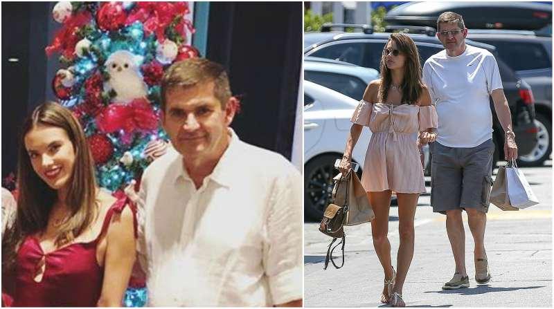 Alessandra Ambrosio's family - father Luiz Ambrosio
