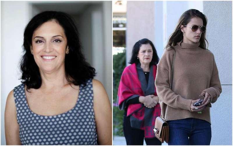 Alessandra Ambrosio's family - mother Lucilda Ambrosio