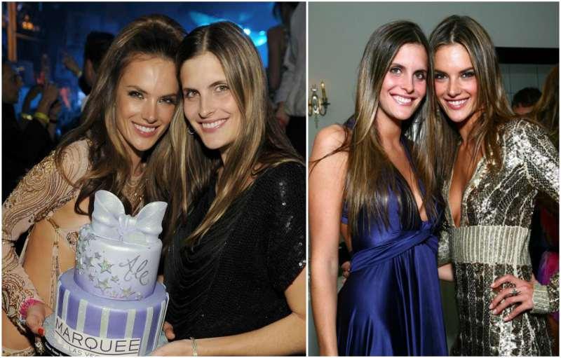 Alessandra Ambrosio's siblings - sister Aline Ambrosio