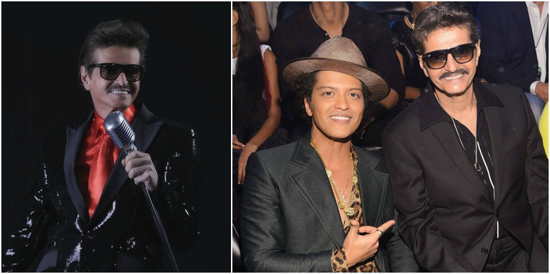 Bruno Mars' family - father Peter Hernandez
