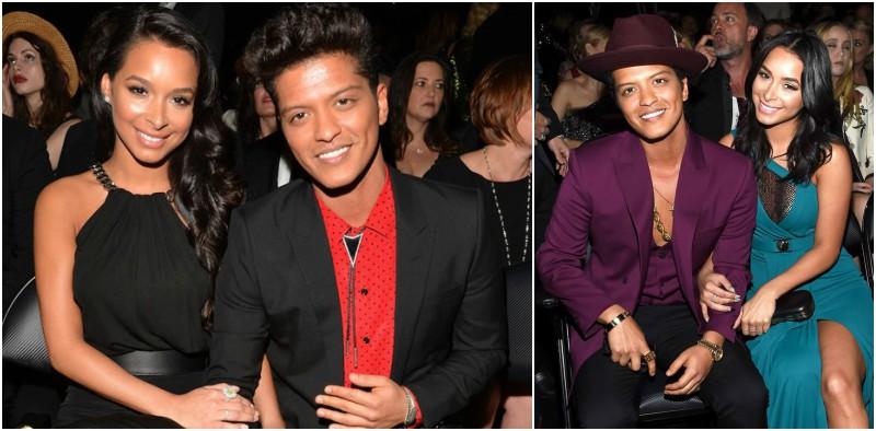 Bruno Mars' family - long-term partner Jessica Marie Caban