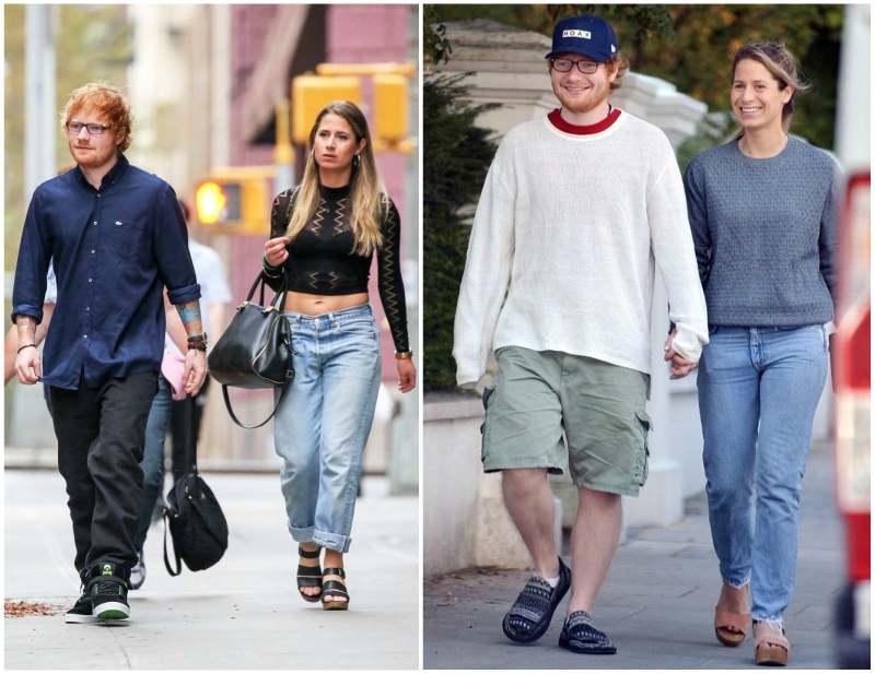 Ed Sheeran's family - spouse Cherry Seaborn