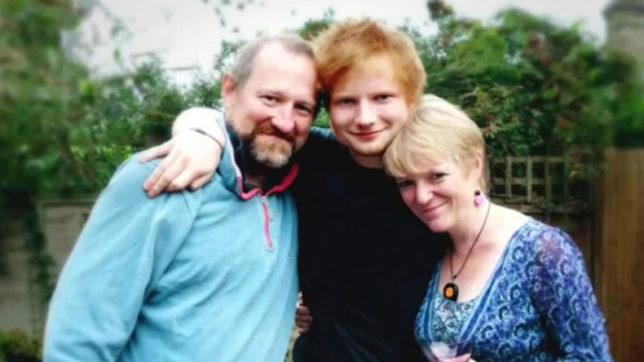 Ed Sheeran's family - parents