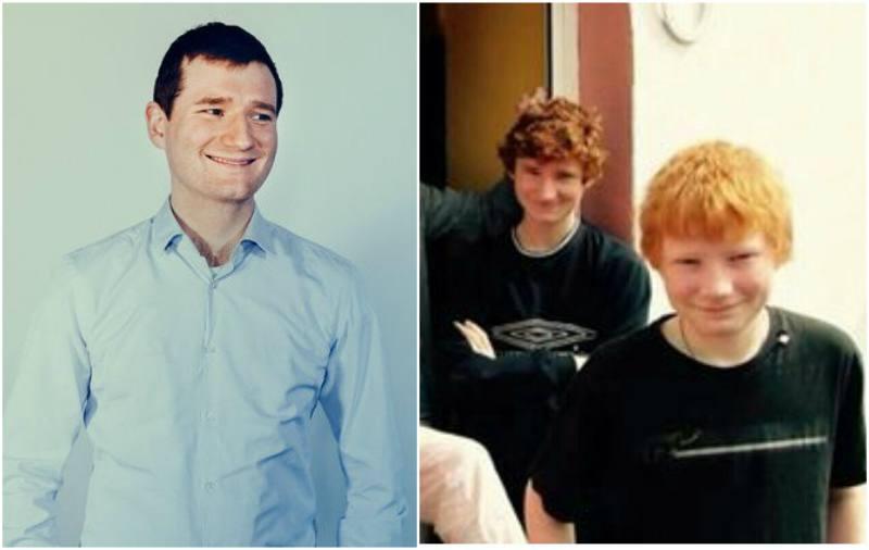 Ed Sheeran's siblings - brother Matthew Sheeran
