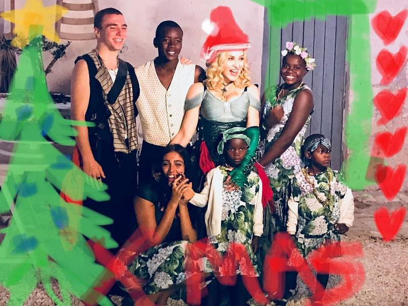 Madonna's children