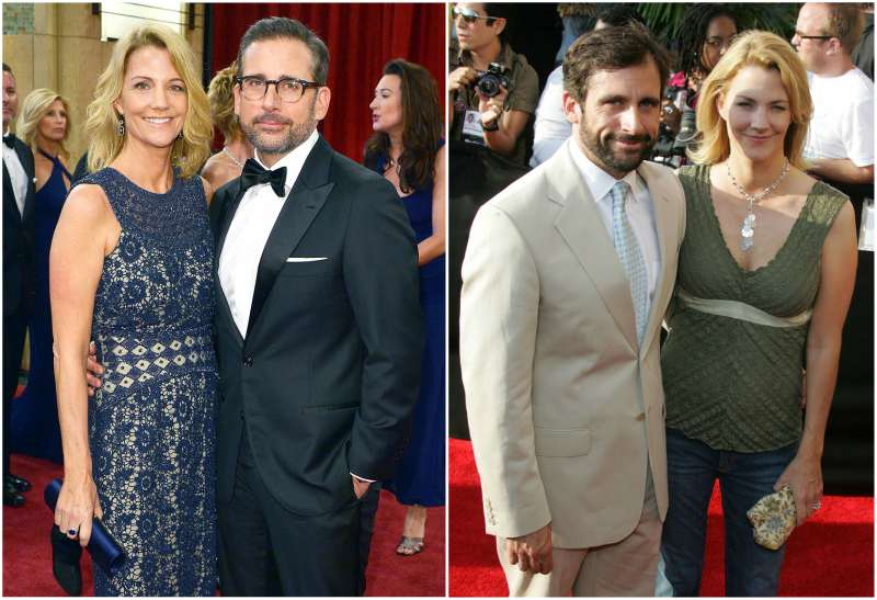 Steve Carell's family - wife Nancy Walls Carell
