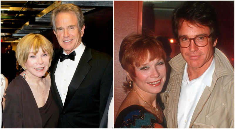 Warren Beatty's siblings - sister Shirley MacLaine