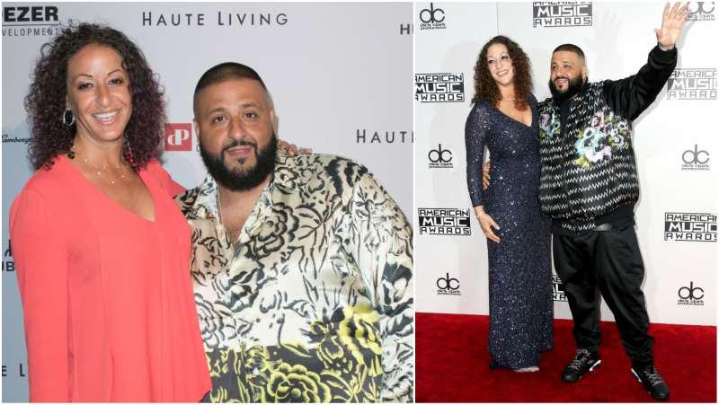 DJ Khaled's family - fiancée Nicole Tuck