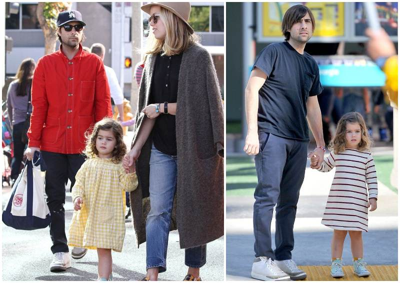 Jason Schwartzman's children - daughter Marlowe Rivers Schwartzman