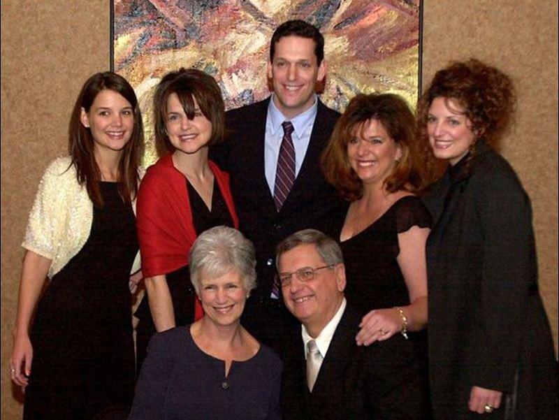 Katie Holmes' family