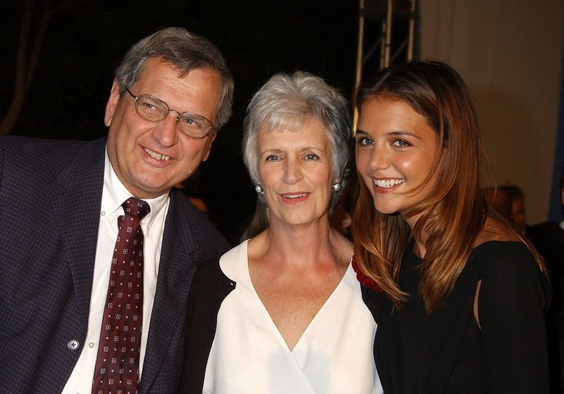 Katie Holmes' family - parents