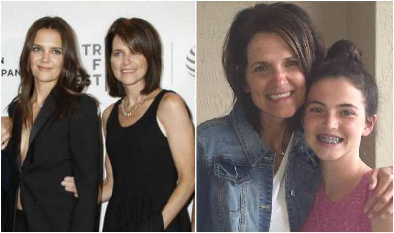 Katie Holmes' siblings - sister Holly Ann Hurley(nee Holmes)