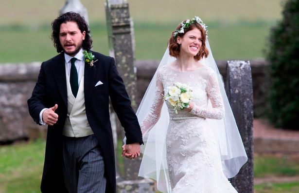 Kit Harington's family - wife Rose Leslie
