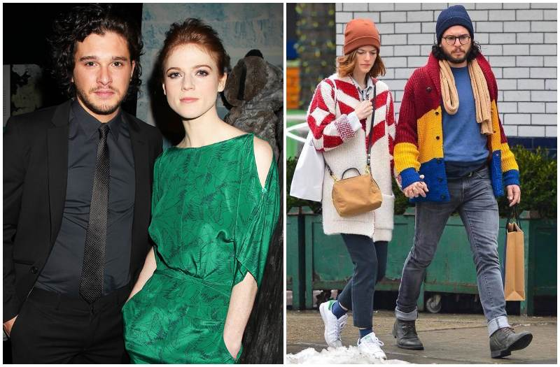 Kit Harington's family - partner Rose Leslie