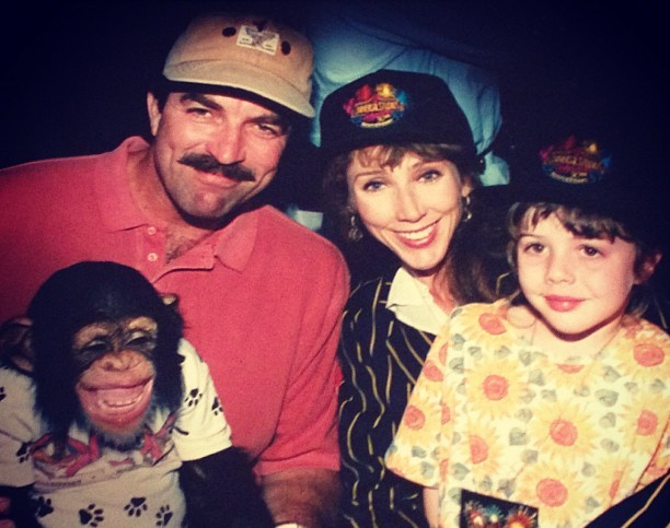 Tom Selleck's family