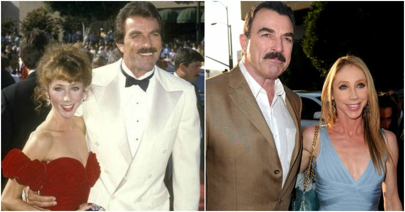 Tom Selleck's family - wife Jillie Joan Mack