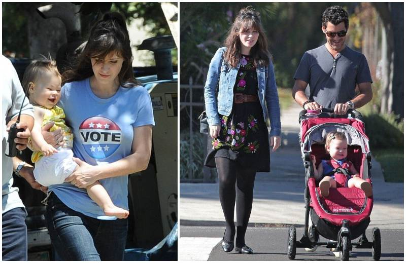 Zooey Deschanel's children - daughter Elsie Otter Pechenik