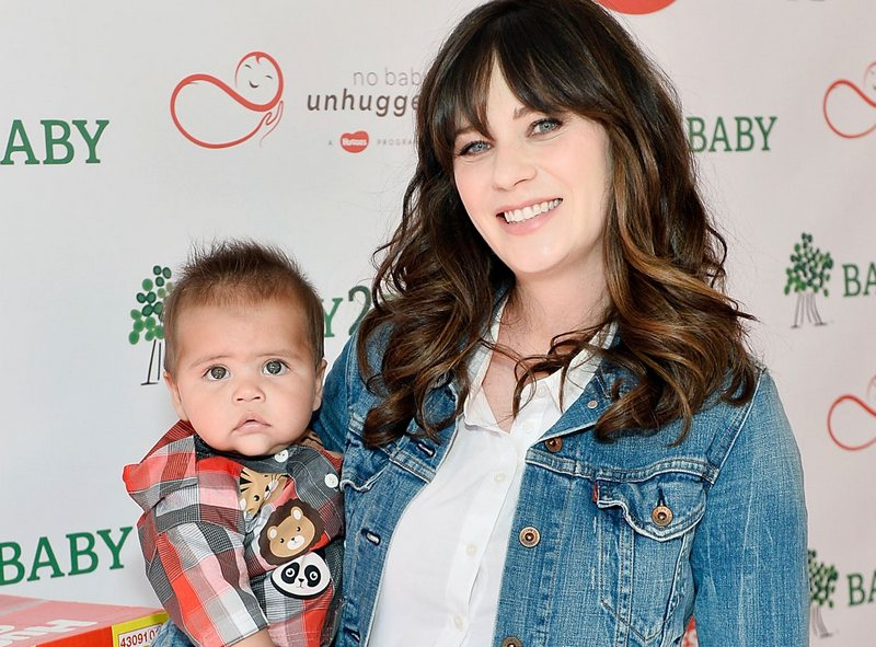 Zooey Deschanel's children - son Charlie Wolf Pechenik