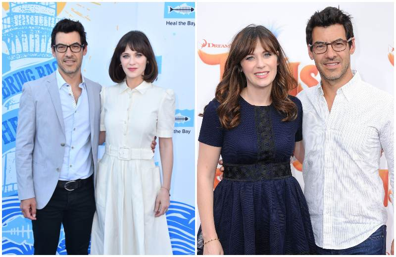 Zooey Deschanel's family - husband Jacob Pechenik