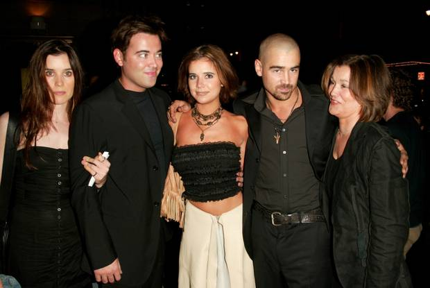 Colin Farrell's siblings and mother