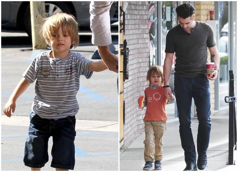 Colin Farrell's children - son Henry Tadeusz Farrell