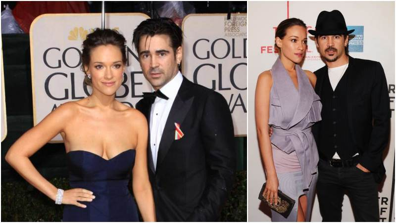 Colin Farrell's family - ex-partner Alicja Bachleda-Curus