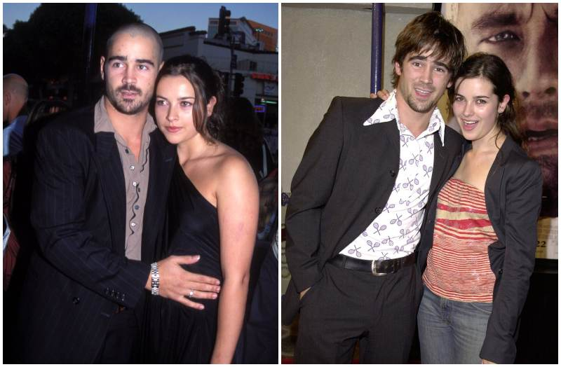 Colin Farrell's family - ex-wife Amelia Warner