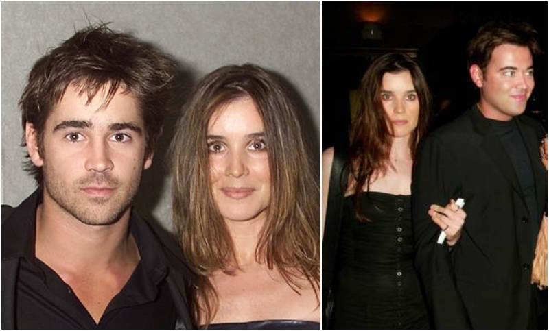 Photo of Colin Farrell & his Sister Catherine Farrell