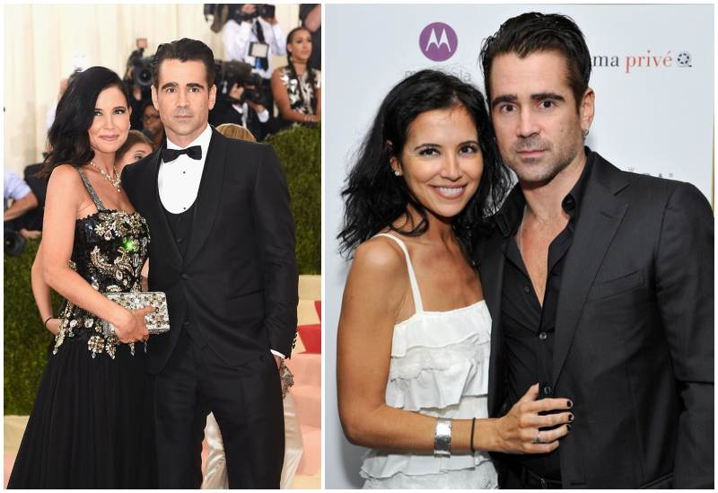Photo of Colin Farrell & his Sister Claudine Farrell